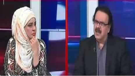 10 PM With Nadia Mirza (Dr. Shahid Masood Exclusive Interview) – 14th April 2017