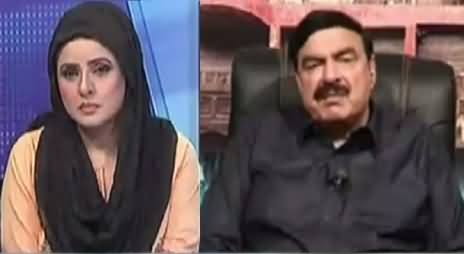 10 PM With Nadia Mirza (Sheikh Rasheed Exclusive Interview) – 13th November 2016