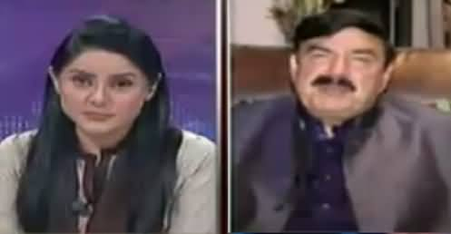 10 PM With Nadia Mirza (Sheikh Rasheed Exclusive Interview) – 22nd April 2016
