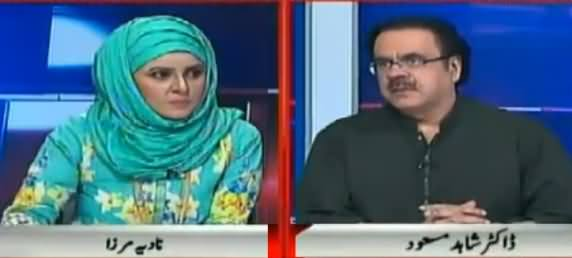 10PM With Nadia Mirza (Dr. Shahid Masood Exclusive Interview) - 29th October 2017