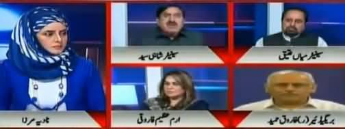 10PM With Nadia Mirza (Farooq Sattar Ki Chaal) - 10th November 2017