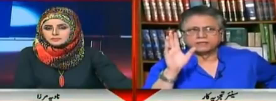 10PM With Nadia Mirza (Hassan Nisar Exclusive Interview) - 22nd October 2017