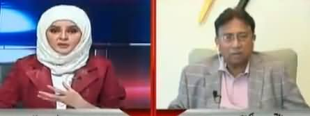 10PM With Nadia Mirza (Pervez Musharraf Exclusive Interview) - 9th December 2017