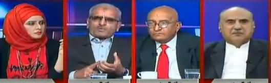 10PM With Nadia Mirza (PPP, PMLN Message To Establishment) - 12th November 2017