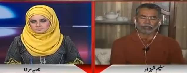 10PM with Nadia Mirza (Saleem Shehzad Exclusive Interview) - 3rd June 2017