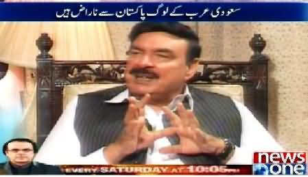 10PM With Nadia Mirza (Shaikh Rasheed Ahmed Special Interview) – 22nd April 2015