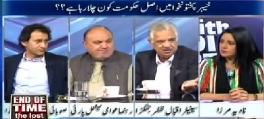10PM With Nadia Mirza (Who is Running Govt in KPK?) – 3rd April 2015