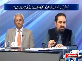 10PM With Nadia Mirza (Will PTI Become Alternate of MQM in Karachi?) – 13th March 2015