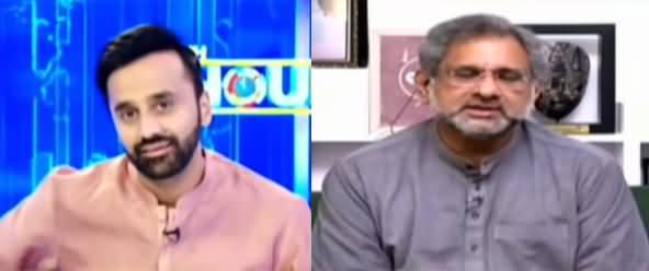 11th Hour (Shahid Khaqan Abbasi Exclusive Interview) - 15th April 2021