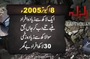 2005 Earthquake in Pakistan: 8 Years completed - Millions of Pakistanis were effected