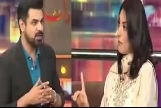 Khawaja Saad Rafique Ke Halq Mein Zabardasti Vote PMLN Ko Dalwaye Gaye - Actress Mahroosh Rana