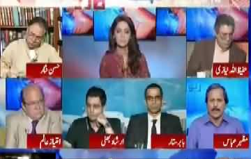 2018 Ke Election Main PMLN Ka Muqabla Kis Se Ho Ga Watch Hassan Nisar, Mazhar Abbass Analysis