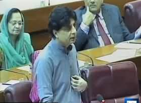 250 Target Killers Moved From Karachi To Wazirastaan - Chaudhary Nisar