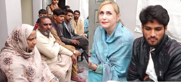 65 Years Old Lady From Europe Reached Pakistan To Marry Pakistani Boy