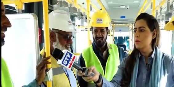 7 Se 8 Sana Hashmi Ke Sath (Green Buses Srrived in Karachi) - 19th September 2021