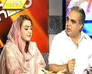 8pm with Fareeha - 25th July 2013 (PTI Aur PPP Sadarti Intikhabat Ke Boycott Ke Liye Tayyar)