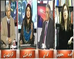 8pm with Fareeha (Asif Zardari Blasts on Pervez Musharraf) - 29th December 2014