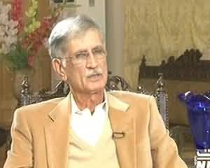 8pm with Fareeha (CM KPK Pervez Khattak Exclusive Interview) – 9th December 2013