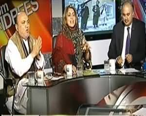 8pm with Fareeha (Dehshat Gardi Ki Jung Pe Barhta Hua Confusion) - 12th November 2013