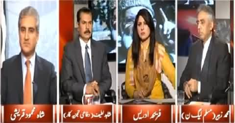 8pm with Fareeha (Dialogues with India without Kashmir Issue?) – 4th March 2015