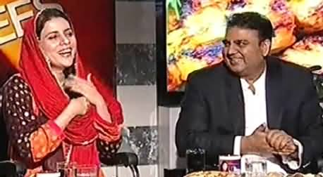 8pm with Fareeha (Eid Special with Fawad Chaudhry & Naz Balouch) – 6th October 2014