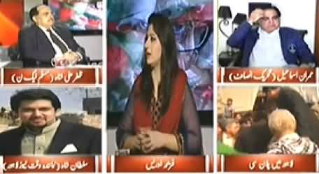 8pm with Fareeha (Imran Khan's Plan C in Lahore) - 15th December 2014