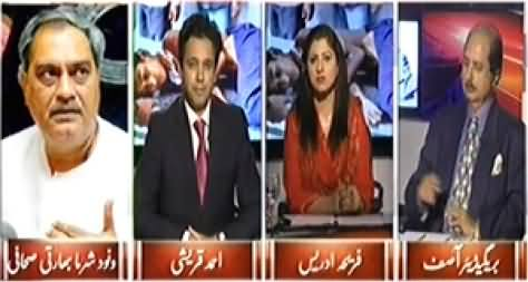8pm with Fareeha (Indian is Disturbing the Peace of Region) – 24th October 2014