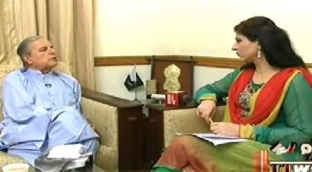 8pm with Fareeha (Javed Hashmi Exclusive Interview) - 3rd September 2014