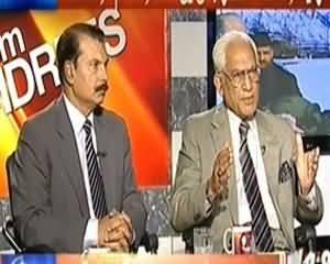 8pm with Fareeha (Kya Musharraf Pakistan Se Chala Jaye Ga?) – 1st April 2014