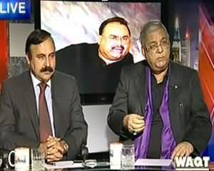 8pm with Fareeha (MQM Aur JI Ke Ek Dosrey Per Ilzamaat) - 4th December 2013