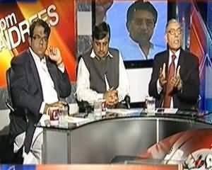 8pm with Fareeha (Musharraf Ke Sathi bhi Treason Case Face Kareinge) - 3rd April 2014