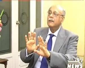 8pm with Fareeha (Najam Sethi Exclusive Interview with Fareeha Idrees) – 19th February 2014
