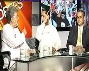 8pm with Fareeha (PTI Ka Dhandli Ke Khilaaf Dharna....) - 26th August 2013