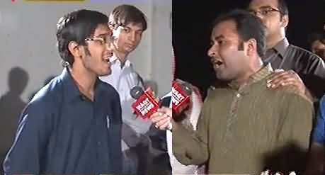 8pm with Fareeha (PTI Youth VS PMLN Youth Hot Debate) - 18th October 2013