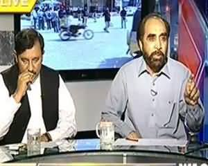 8pm with Fareeha (Ranger Karachi Main Operation Karegi....) - 4th September 2013