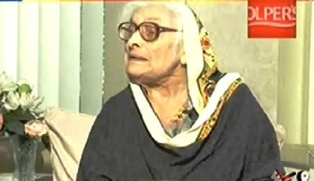 8pm with Fareeha REPEAT (Begum Nasim Wali Khan Exclusive Interview) – 31st March 2015