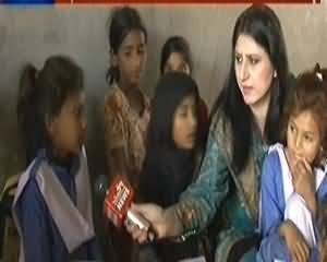 8pm with Fareeha (Special Talk with the Poor Children of Islamabad) – 10th April 2014