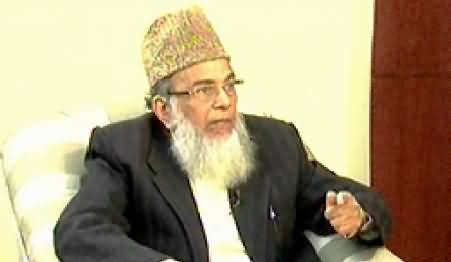 8pm with Fareeha (Syed Munawar Hassan Exclusive Interview) – 24th November 2014