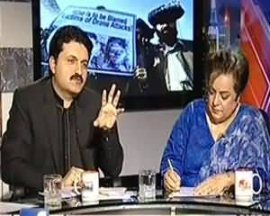 8pm with Fareeha (USA Drones Rokne Per Kyun Tayaar Nahi?) - 1st November 2013