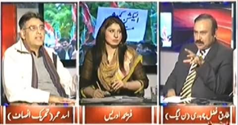 8pm with Fareeha (When PTI & PMLN Will Start Negotiations) - 19th November 2014