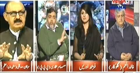 8pm with Fareeha (Who is Responsible For Peshawar Incident) - 19th December 2014