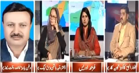 8pm with Fareeha (Why Balochistan's Condition Not Changed) - 23rd January 2015