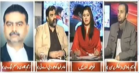 8pm with Fareeha (Will Govt Use Force Against PTI on 30 November) - 25th November 2014