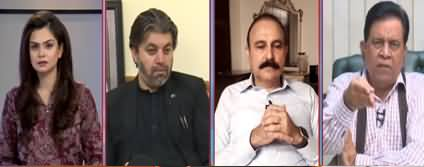92 At 8 (Fazal ur Rehman's Long March) - 18th September 2019