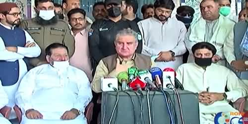 A Decade Needed For Decisive Change in Situation of Southern Punjab - Shah Mehmood Qureshi's Media Talk