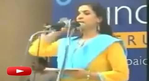 A Hindu Girl Praising Islam With Her Beautiful Poetry - Must Watch