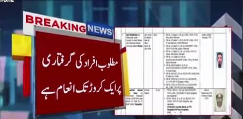 A list of 109 wanted terrorists released in Punjab