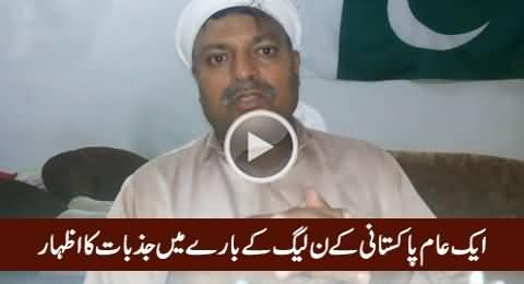 A Pakistani Expressing His Emotions About PMLN, Nawaz Sharif & Ishaq Dar