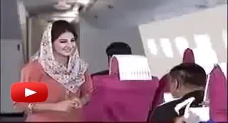 A Very Funny Video on the Wonderful Service of PIA and Its Airhostess