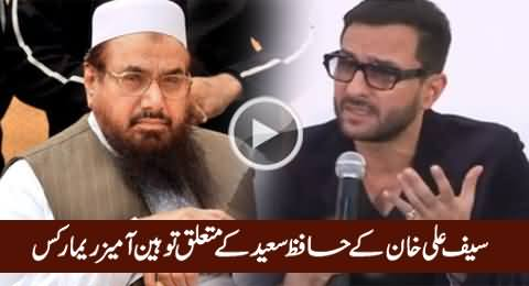 A Wanted Terrorist Can Go to Court in Pakistan - Saif Ali Khan's Insulting Remarks About Hafiz Saeed
